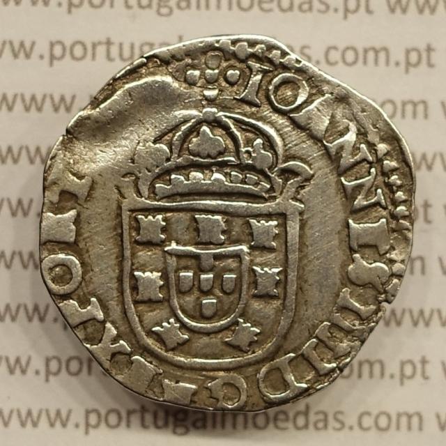MOEDA DE TOSTÃO EM PRATA 1640-1656 (MBC) D. JOÃO IV