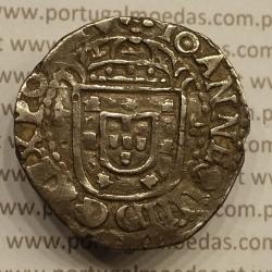 MOEDA DE TOSTÃO EM PRATA 1642 (MBC) D. JOÃO IV