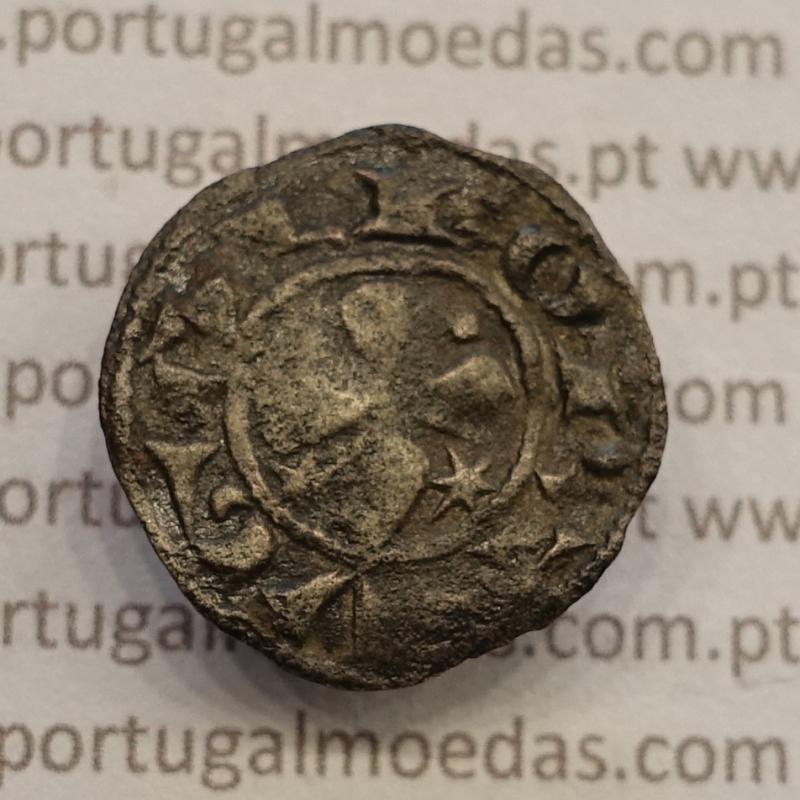 MOEDA DINHEIRO BOLHÃO 1185-1211 (MBC+) D. SANCHO I