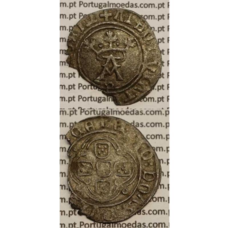 """MOEDA COTRIM BOLHÃO 1438-1481 """"P"""" PORTO D. AFONSO V"""