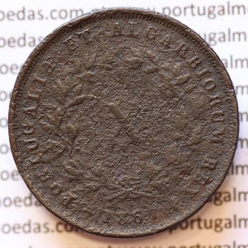 MOEDA 10 RÉIS COBRE (X RÉIS) 1867 (BC) - REI D. LUIS I - WORLD COINS PORTUGAL KM514