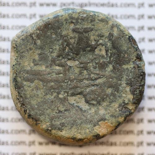 "MOEDA ASSE ""AS"" BRONZE DA REPÚBLICA ROMANA FAMÍLIA ""MATIENA"" (ANO 179 a.C. a 170 a.C.) ""MATIENUS"" LEGENDA (MA / ROMA)"