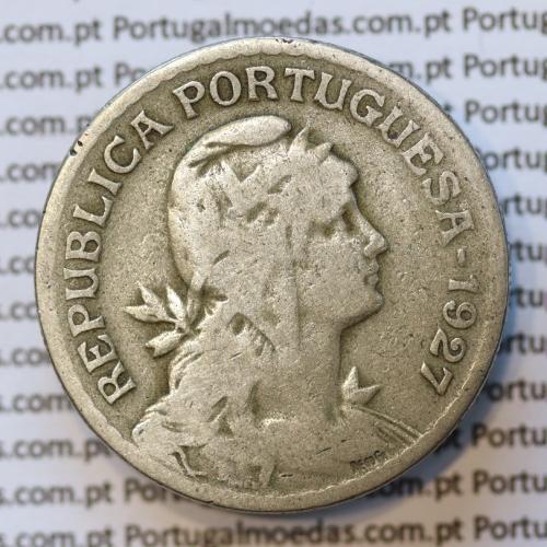 MOEDA DE UM ESCUDO (1$00) ALPACA 1927 BC