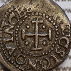 Moeda 2 Vinténs Prata D. Afonso VI 1656-1667, +ALPHONSVS.VI.DG.RP (A. Gomes A6.13.11) World Coins Portugal KM 70