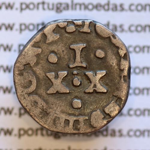 Vintém Prata de D. João IV 1640-1656, 20 Reais prata, (não catalogada no A. Gomes), Legenda: ALGARABIORVN / ✤IOANNES IIII DG.R.P