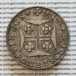 """""""VINECS"""" Cruzado Novo Prata 1816 D. João Príncipe Regente, 480 Réis prata 1816 VINECS, (RARA), World Coins Portugal  KM331"""