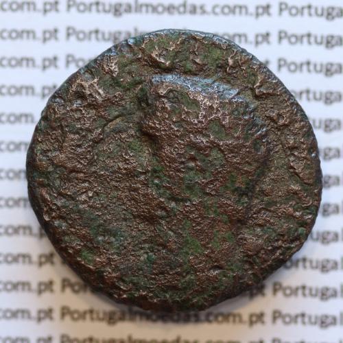 Asse Imperador Tiberius, homenagem a seu pai adotivo o Imperador Augusto, Legenda: DIVVS AVGVSTVS PATER / S-C PROVIDENT