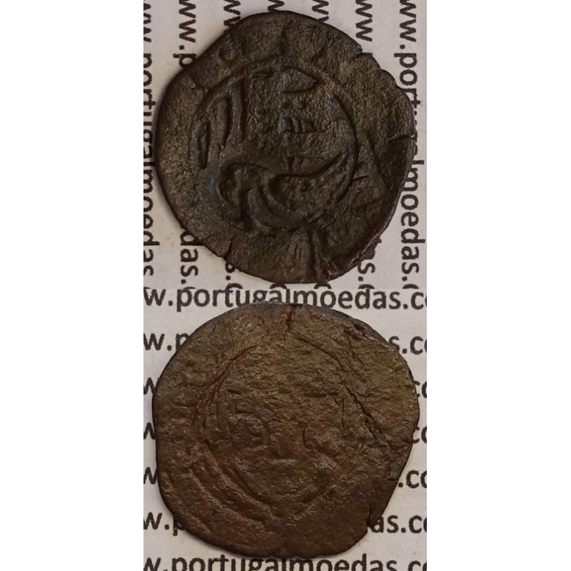 MOEDA CEITIL COBRE C\ CARIMBO DE AÇOR 1580-1583