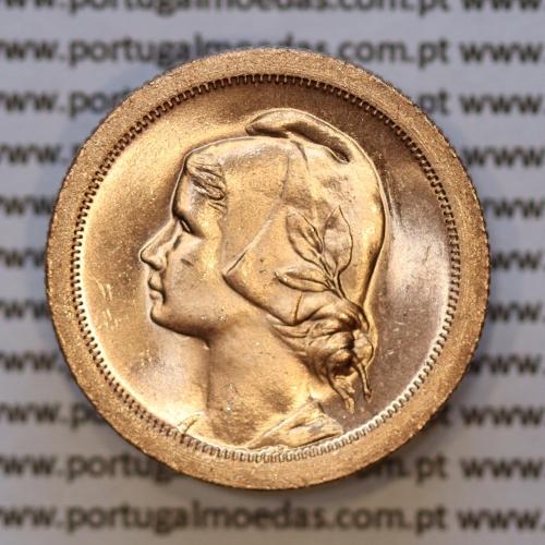 Moeda 10 centavos 1940 Bronze, dez centavos, (soberba), World Coins krause Portugal KM 573