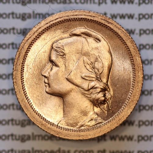 Moeda 10 centavos 1926 Bronze, dez centavos, (soberba), World Coins krause Portugal KM 573