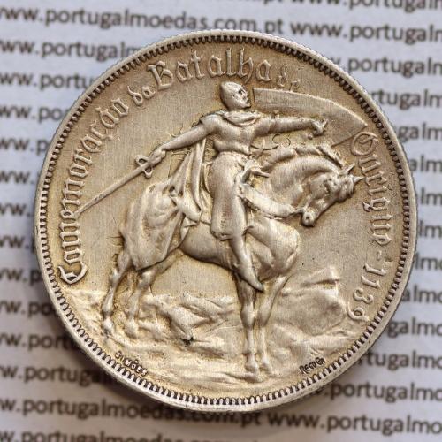 10 Escudos prata 1928 Batalha de Ourique, 10$00 prata 1928,  (BC), World Coins Portugal KM 57