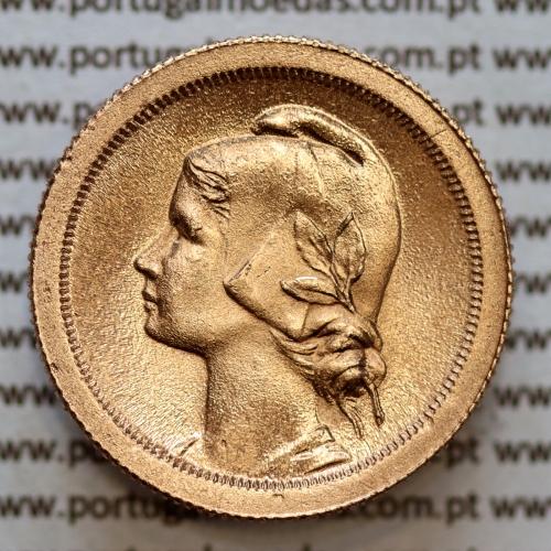 10 centavos 1925 Bronze, dez centavos, (soberba), World Coins krause Portugal KM 573