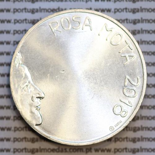 "7,5 ""Euros"" 2018, Rosa Mota, prata, (7,50 Euro 2018, Rosa Mota, prata coin, World Coins Portugal KM892)"