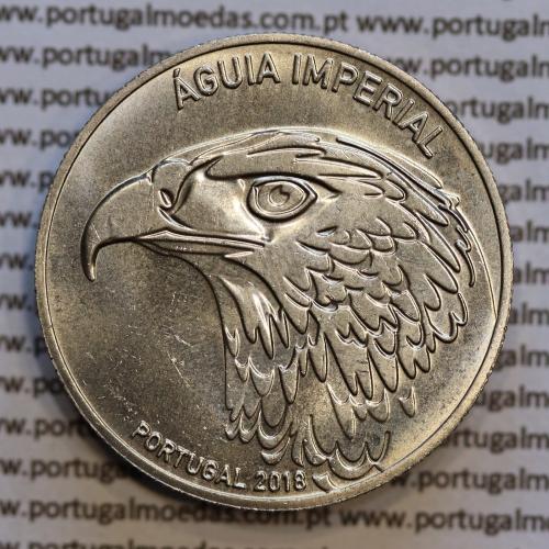 "5€ ""Euros"" 2018, A Águia Imperial, Cuproníquel, (5 Euro 2018, The Imperial Eagle, World Coins Portugal KM 893))"