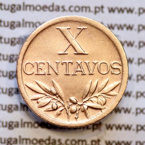 """X centavos 1948 Bronze, """"10 centavos 1948"""" República Portuguesa, (Bela-) - World Coins Portugal  KM583"""