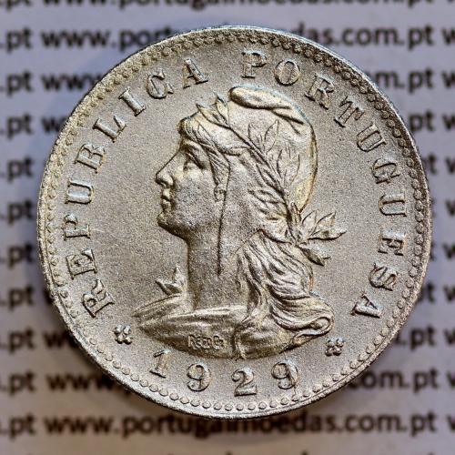 São Tomé e Príncipe 20 Centavos 1929 Alpaca, (Bela-), World Coins - Saint Thomas & Prince Island KM 3