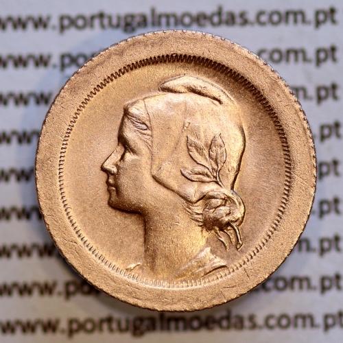 5 centavos 1925 Bronze, $05 Centavos 1925 Republica Portuguesa, (Bela), World Coins Portugal KM 572