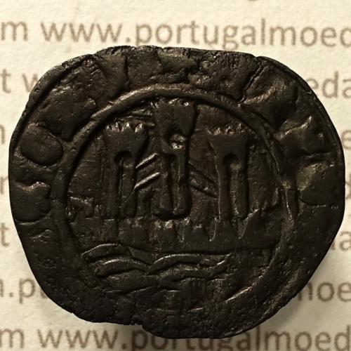 Ceitil Cobre de D. Afonso V (1438 -1481), Ceitil (1/6 Real Branco) Tipologia do catálogo F. Magro 1º Grupo - A5.1.4.4
