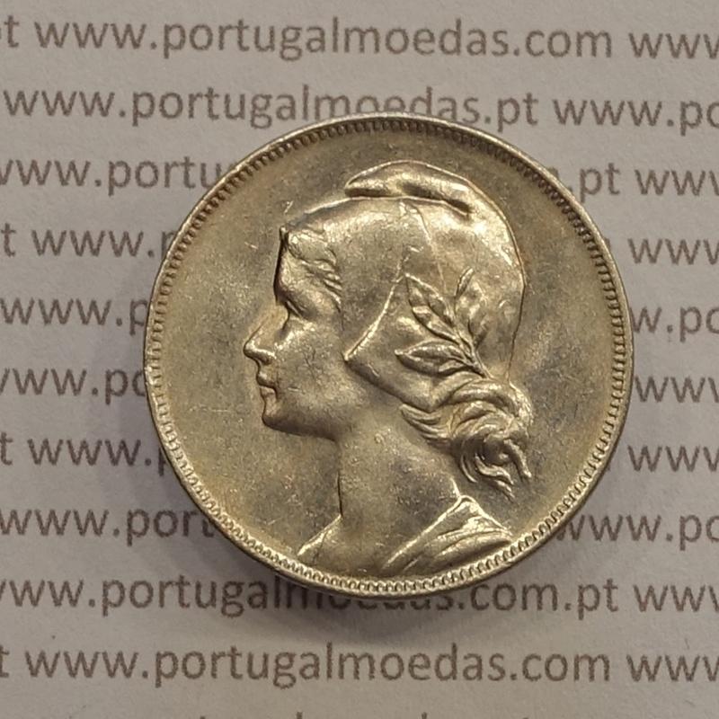 MOEDA DE QUATRO CENTAVOS (4 CENTAVOS) CUPRO-NÍQUEL 1917 MBC+/BELA-
