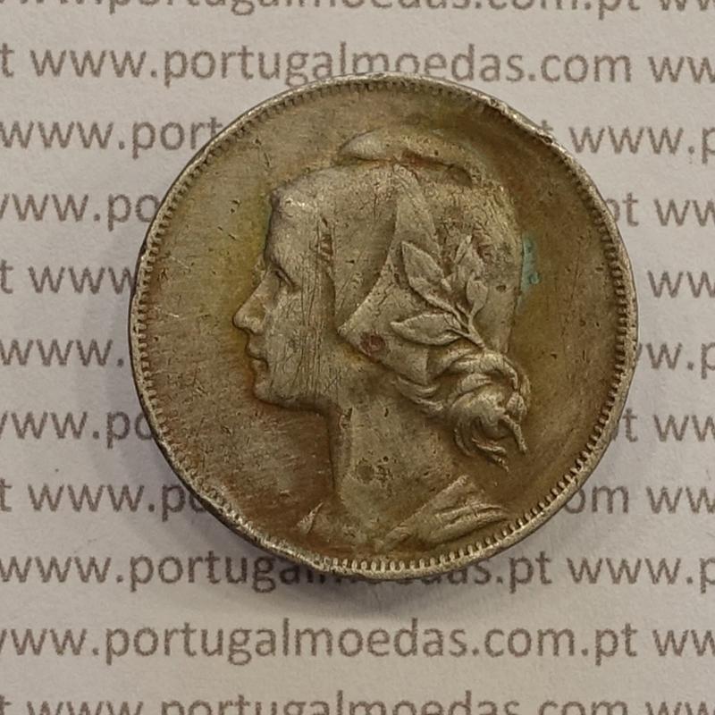 MOEDA DE QUATRO CENTAVOS (4 CENTAVOS) CUPRO-NÍQUEL 1919 BC