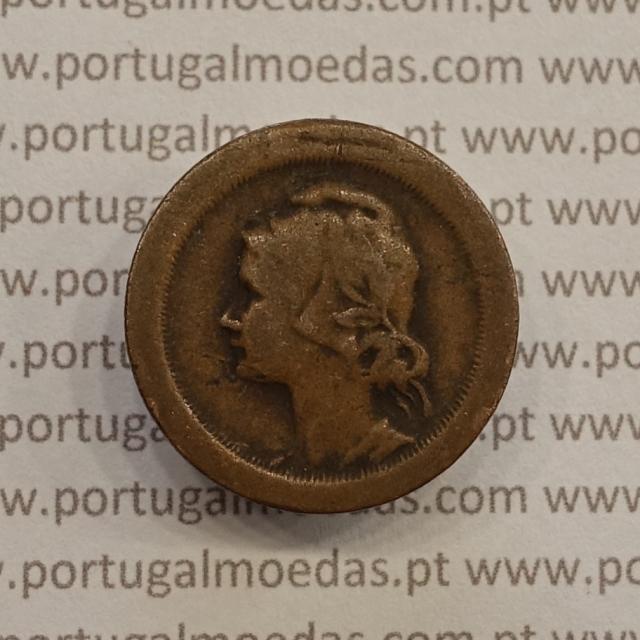 MOEDA DE CINCO CENTAVOS (5 CENTAVOS) BRONZE 1924 BC