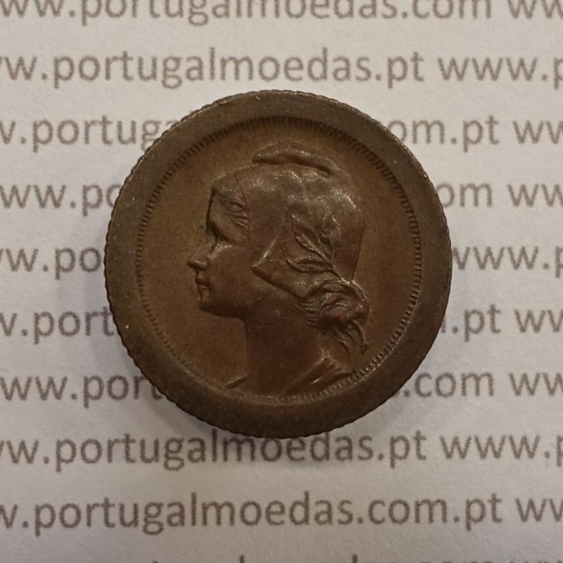 MOEDA DE CINCO CENTAVOS (5 CENTAVOS) BRONZE 1927 MBC+/BELA-