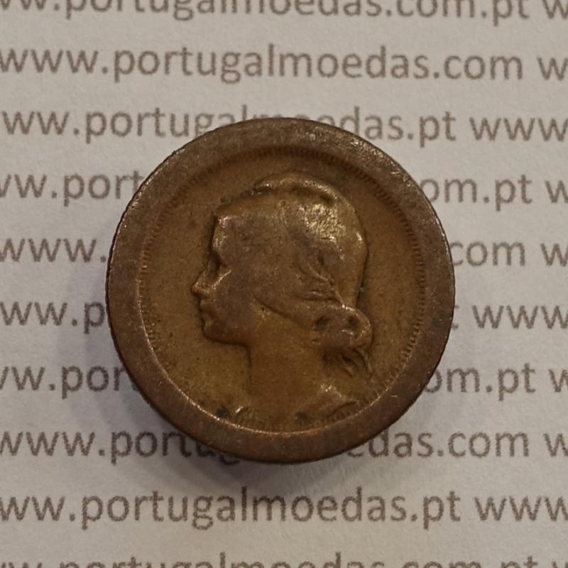 MOEDA DE CINCO CENTAVOS (5 CENTAVOS) BRONZE 1927 BC