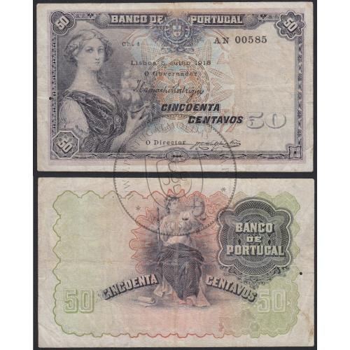 nota-50-centavos-1918-mulher-barco-na-mão-1-linha-banco-de-portugal