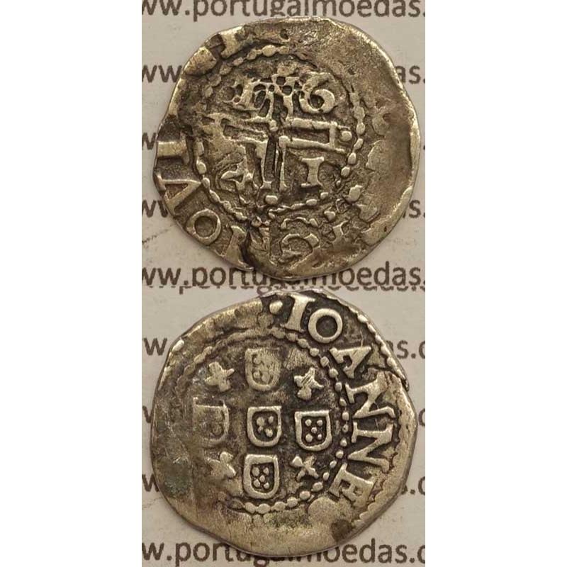 MEIO TOSTÃO PRATA 1641 (BC)