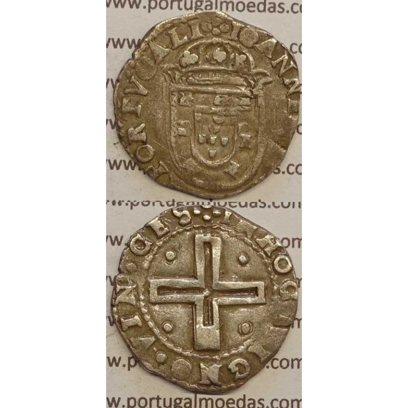 """TOSTÃO - PRATA 1640-1656 (MBC) """"+IOANINES.IIII.DG.REX PORTVGALI"""""""