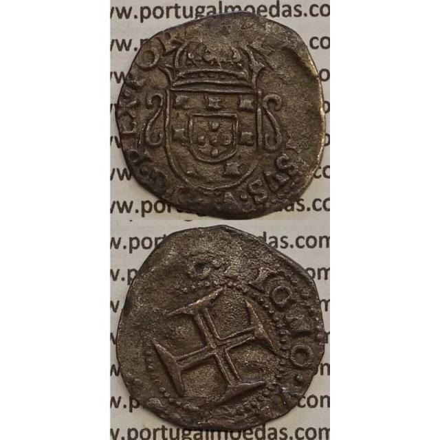 MOEDA TOSTÃO PRATA 1656-1667 (BC) - D. AFONSO VI