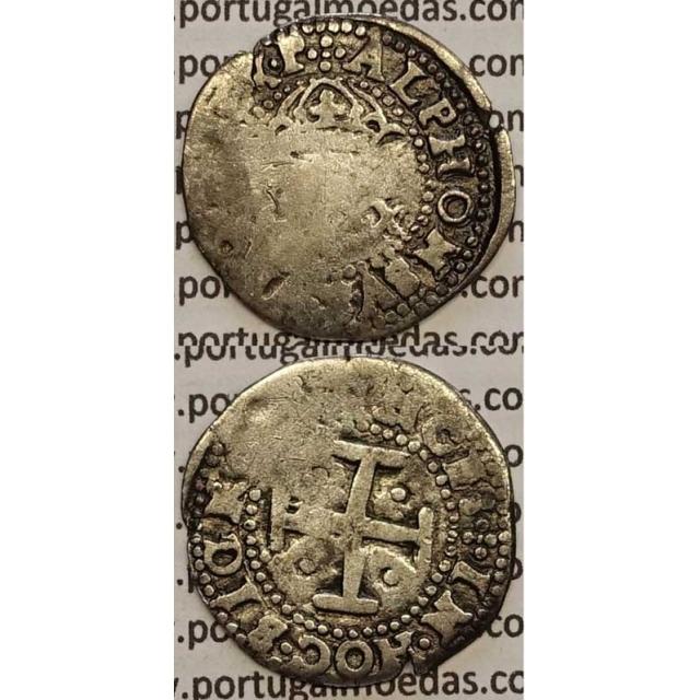 MOEDA 4 VINTENS PRATA 1656-1667 (BC-) - D. AFONSO VI