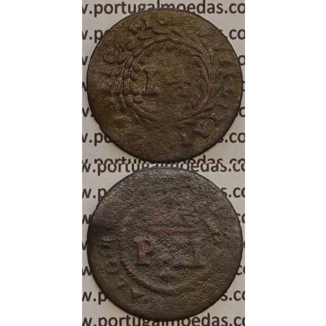 MOEDA REAL E MEIO COBRE 1699 (BC-) - D.PEDRO II