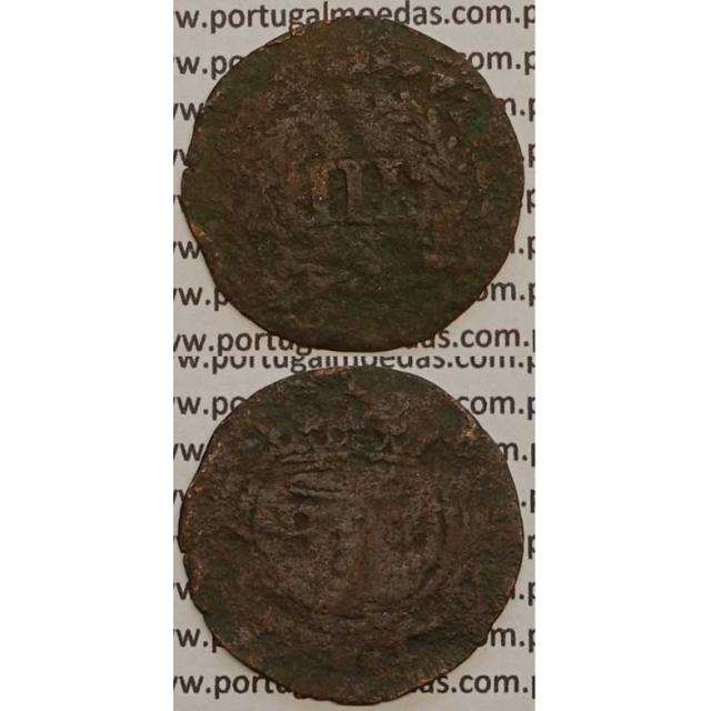 MOEDA III REIS COBRE 1699 (REG) - D. PEDRO II