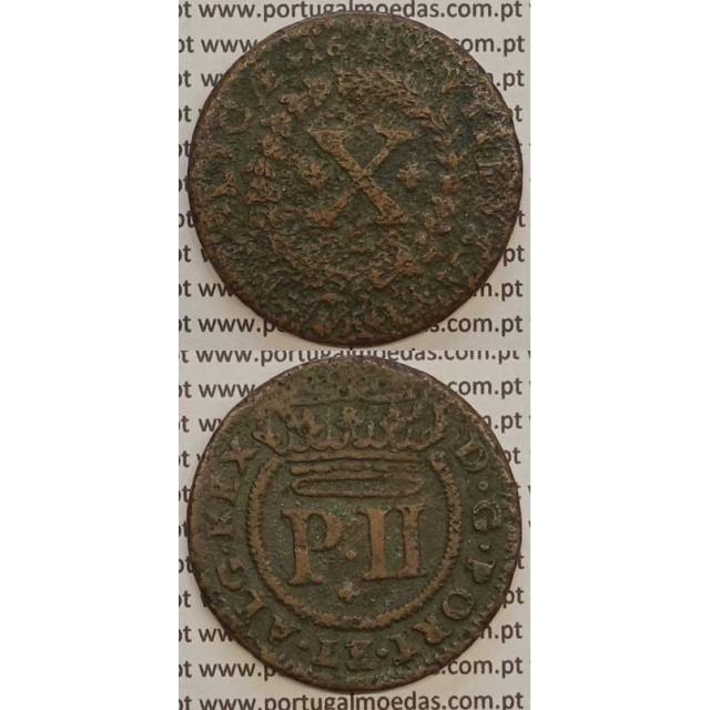 MOEDA X RÉIS COBRE 1699 (BC-) - D.PEDRO II