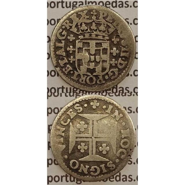 MOEDA 3 VINTÉNS PRATA (BC) - D. PEDRO II