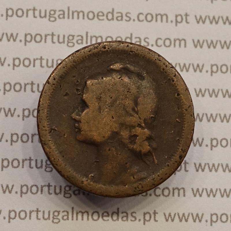 MOEDA DE DEZ CENTAVOS (10 CENTAVOS) BRONZE 1924 BC