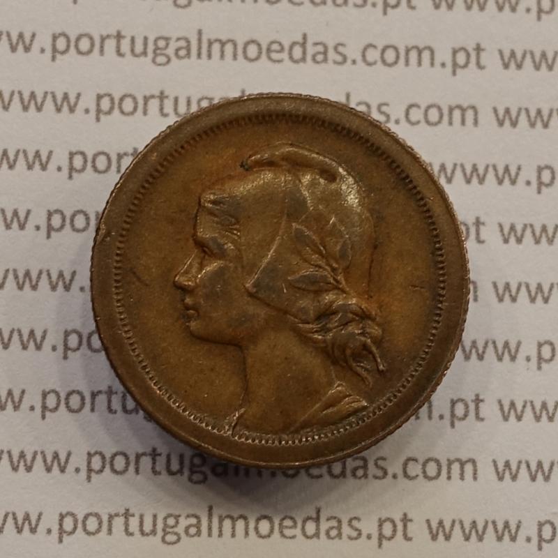 MOEDA DE DEZ CENTAVOS (10 CENTAVOS) BRONZE 1926 MBC+