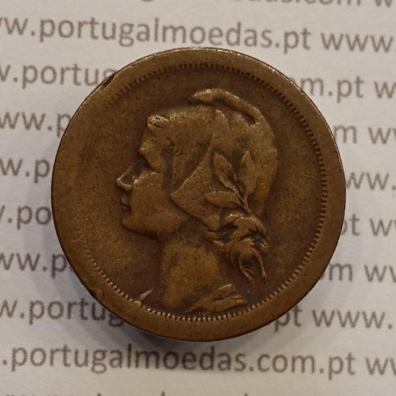 MOEDA DE DEZ CENTAVOS (10 CENTAVOS) BRONZE 1938 MBC