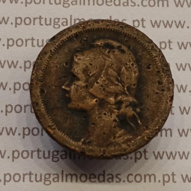 MOEDA DE DEZ CENTAVOS (10 CENTAVOS) BRONZE 1938 BC-