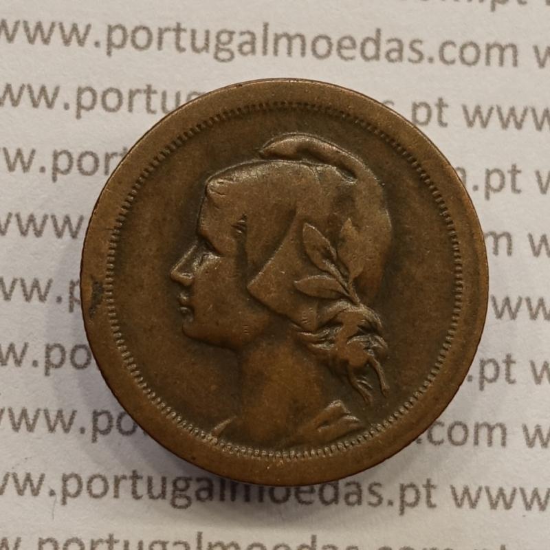 MOEDA DE DEZ CENTAVOS (10 CENTAVOS) BRONZE 1930 MBC