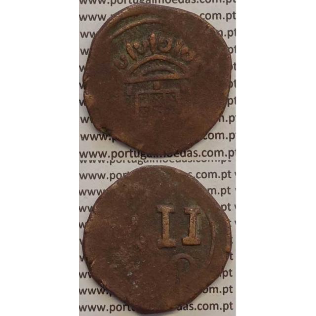 15 REIS COBRE 1706-1750 (BC-) MOÇAMBIQUE