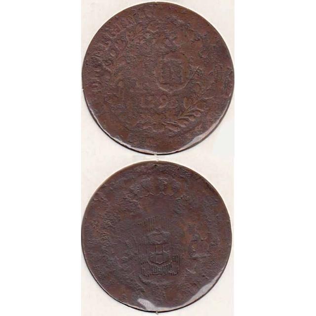 10 RÉIS COBRE 1795 (REG/MC) AÇORES