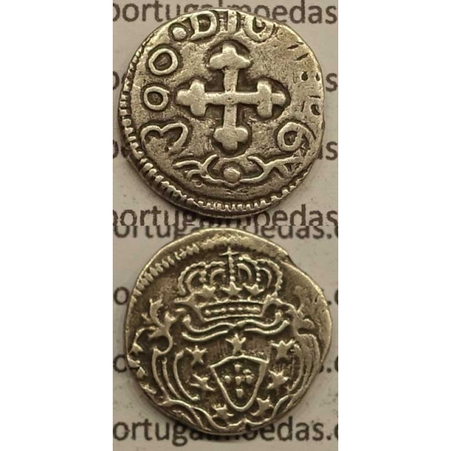 PARDAU (300 RÉIS) PRATA 1806 (BC) ÍNDIA - DIU
