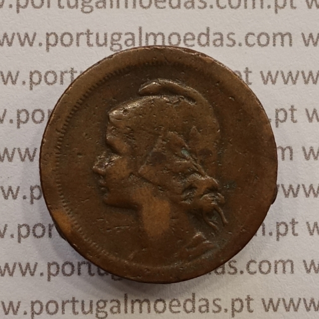 MOEDA DE DEZ CENTAVOS (10 CENTAVOS) BRONZE 1930 BC