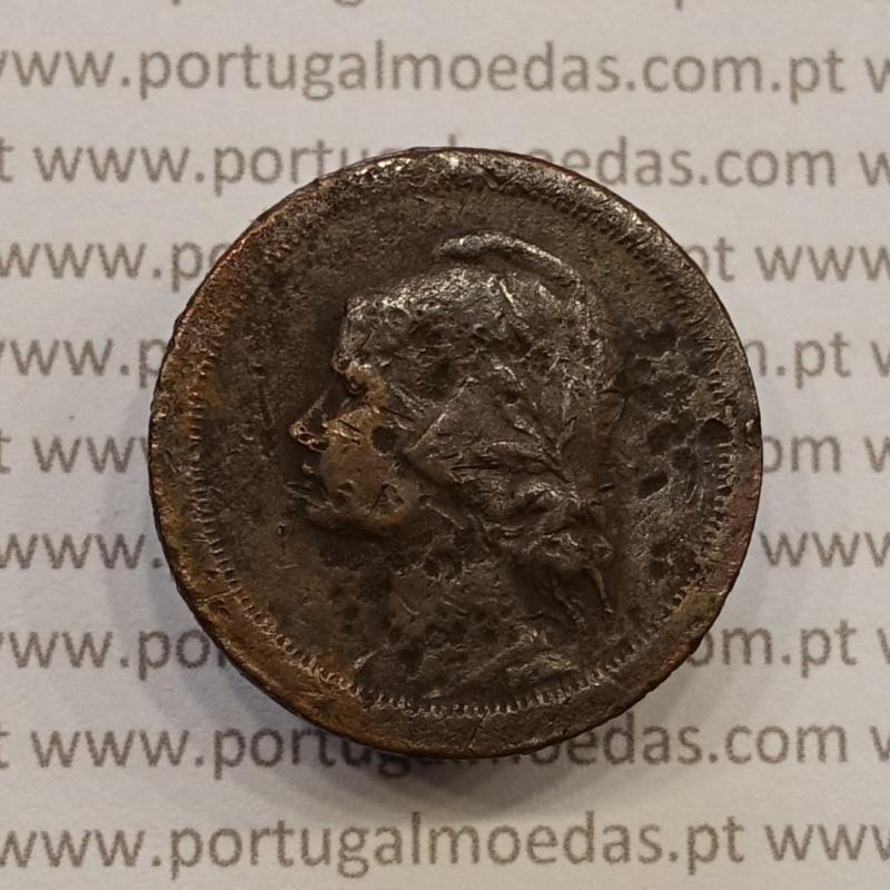 MOEDA DE DEZ CENTAVOS (10 CENTAVOS) BRONZE 1930 BC-