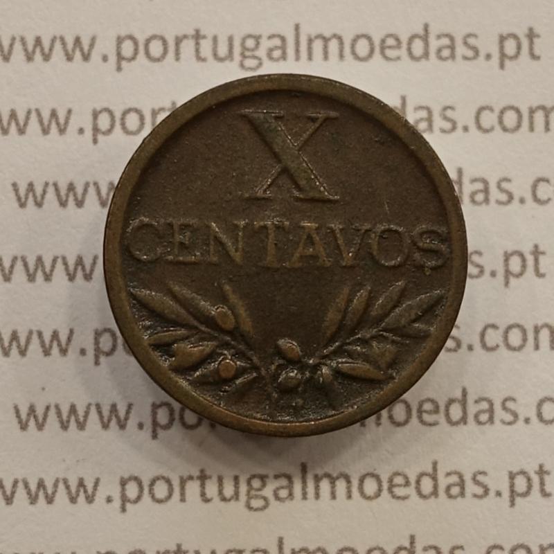 MOEDA DE DEZ CENTAVOS (X CENTAVOS) BRONZE 1944 MBC