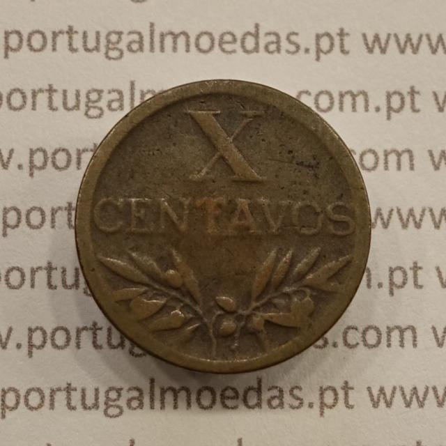 MOEDA DE DEZ CENTAVOS (X CENTAVOS) BRONZE 1945 BC