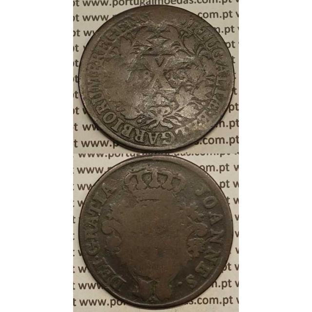 MOEDA X REIS COBRE 1813 (BC-)