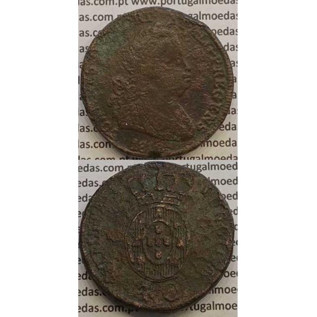 MOEDA PATACO (40 RÉIS) BRONZE 1812 (BC+) LEGENDA SEPARADA